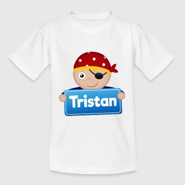 Lite Pirate Tristan - T-skjorte for barn