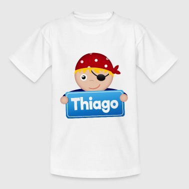 Little Pirate Thiago - Kids' T-Shirt