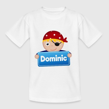 Petit Pirate Dominic - T-shirt Enfant