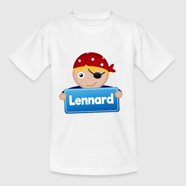Little Pirate Lennard - Kids' T-Shirt