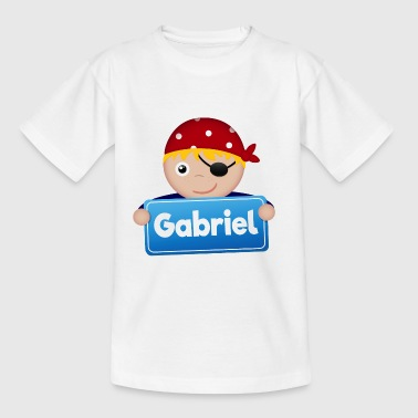 Little Pirate Gabriel - Kids' T-Shirt