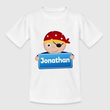 Little Pirate Jonathan - T-shirt barn