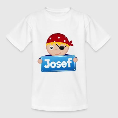 Little Pirate Josef - T-shirt barn