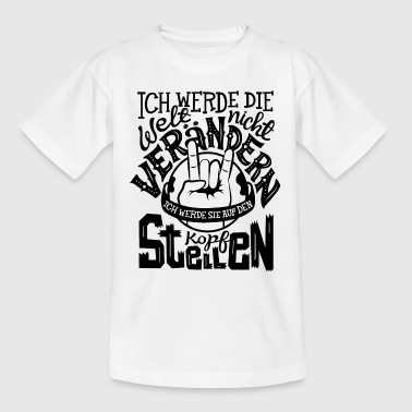 Rock the World - Unisex T-Shirt für Kinder - Kinder T-Shirt