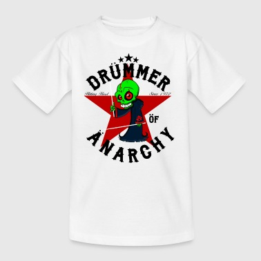 Nsane Drummer - Drümmer OF ANARCHY - noir - T-shirt Enfant