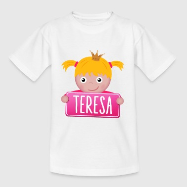 Little Princess Teresa - Kids' T-Shirt