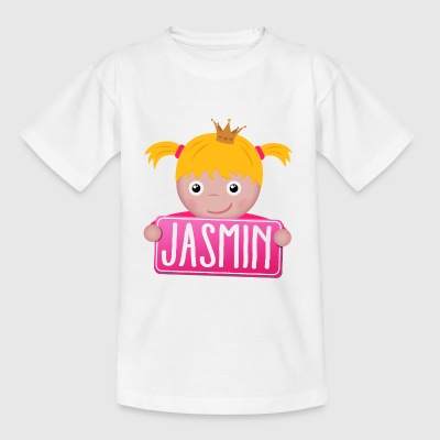 Little Princess Jasmine - T-shirt barn
