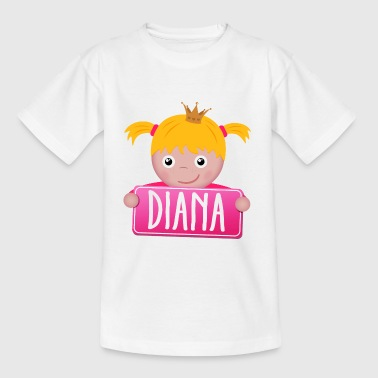 Little Princess Diana - Kids' T-Shirt