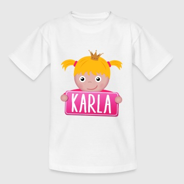 Little Princess Karla - T-shirt Enfant