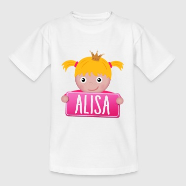 Little Princess Alisa - Kinderen T-shirt