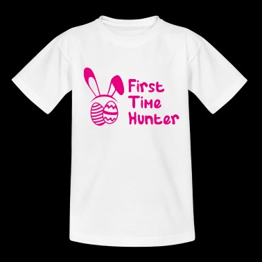 First Time Hunter - Eierenjacht nest Hare - Kinderen T-shirt