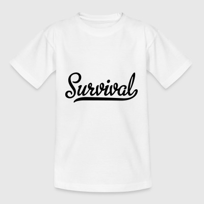 2541614 128647768 Survival - T-skjorte for barn