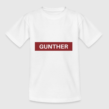 Gunther - Kinder T-Shirt