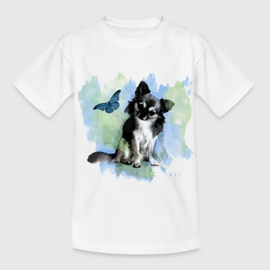 Chihuahihua Water Color - Kids' T-Shirt