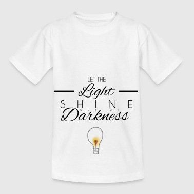 LET THE LIGHT - Kids' T-Shirt