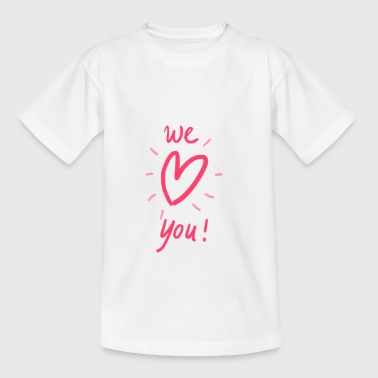 Spread the love! - Kinderen T-shirt