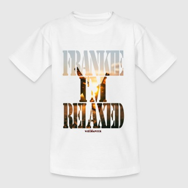 Frankie I'M Relaxed - Kids' T-Shirt