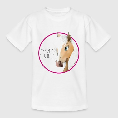 My name is LOULOUTE - T-shirt Enfant
