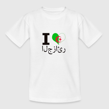 I LOVE ALGERIEN - Kinder T-Shirt