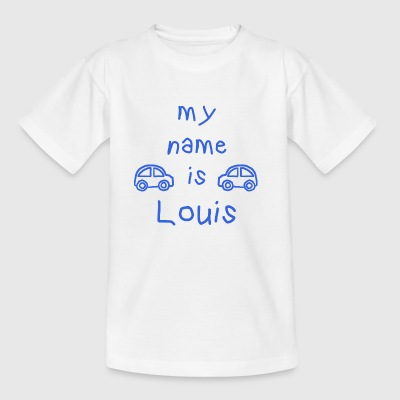 LOUIS MY NAME IS - T-skjorte for barn
