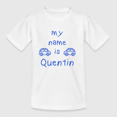 QUENTIN MY NAME IS - T-skjorte for barn