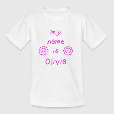 OLIVIA MY NAME IS - Kids' T-Shirt