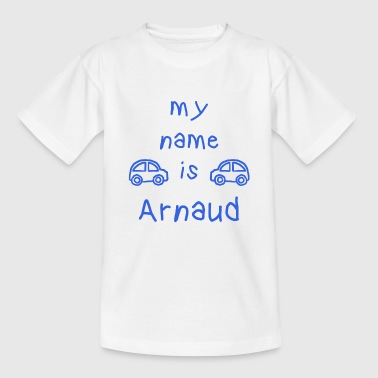 ARNAUD MY NAME IS - T-skjorte for barn