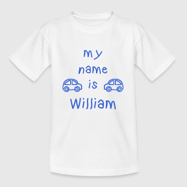 MIJN NAAM IS WILLIAM - Kinderen T-shirt
