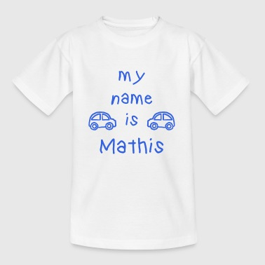 MATHIS MY NAME IS - T-skjorte for barn