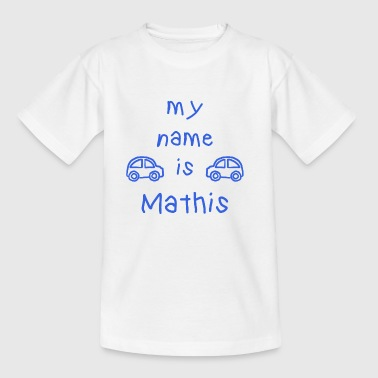 MATHIS MEIN NAME - Kinder T-Shirt