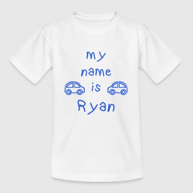 NAME IS MY RYAN - Maglietta per bambini