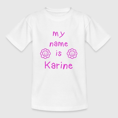 KARINE MY NAME IS - T-shirt Enfant