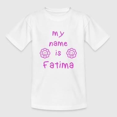 FATIMA MY NAME IS - T-shirt Enfant