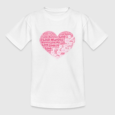I Love Mummy - Kids' T-Shirt