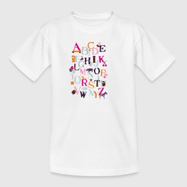 Motiv ABC - Kinder T-Shirt