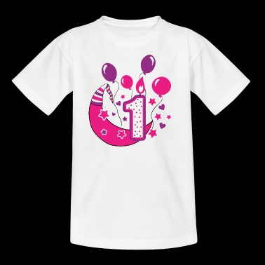 first birthday 1st birthday one year gift - Kids' T-Shirt