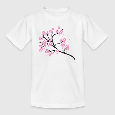 Cherry blossoms - Kids' T-Shirt
