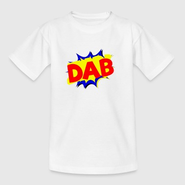 Dab Comic-Logo - Kinder T-Shirt