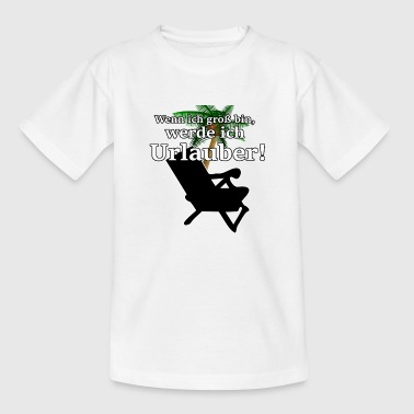 vacationer - Kids' T-Shirt
