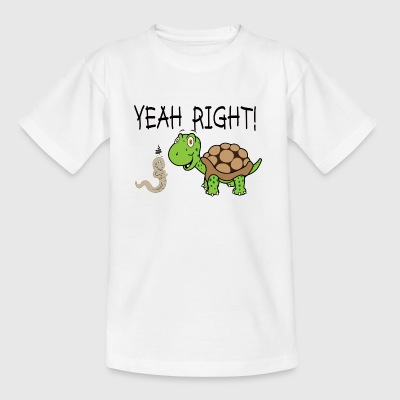 kinder t shirt turtle - Kinderen T-shirt