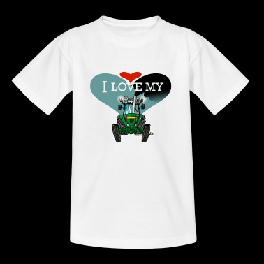 I LOVE MY JOHN DEERE - Kinderen T-shirt