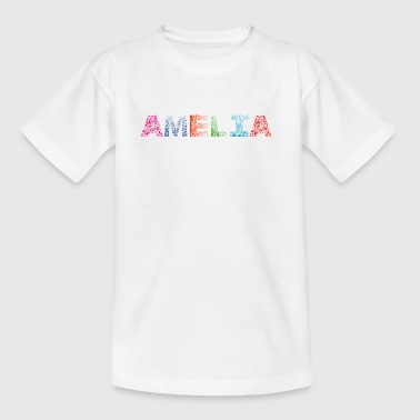 Font Fashion Amelia - Kinderen T-shirt