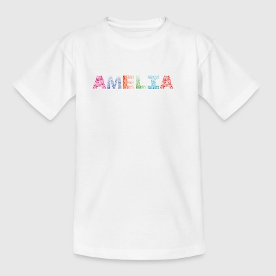 Font Fashion Amelia - Kids' T-Shirt