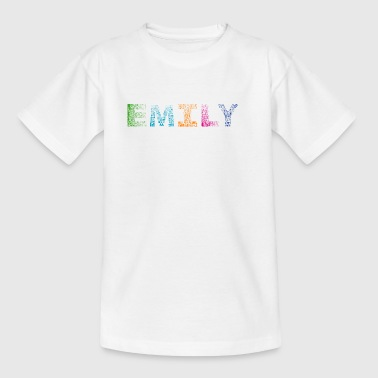 Emily Letter Name - T-shirt Enfant