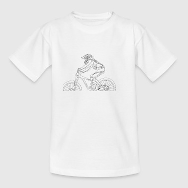 Bike rider - Kids' T-Shirt