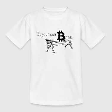 Bitcoin Bank - T-skjorte for barn