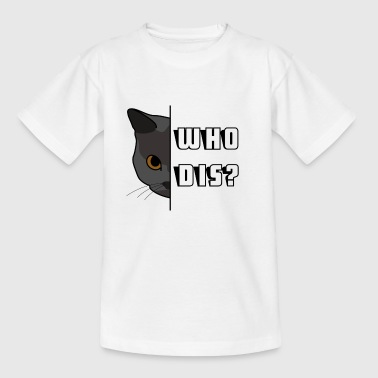Hiding Cat - Kids' T-Shirt
