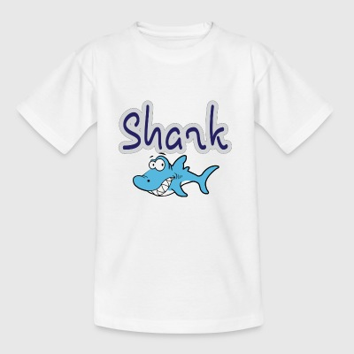 Cartoon Shark - Kinderen T-shirt
