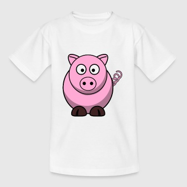 Little cute piglet piglet - Kids' T-Shirt