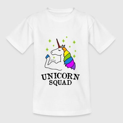 Unicorn Squad Gym Fitness - T-shirt Enfant